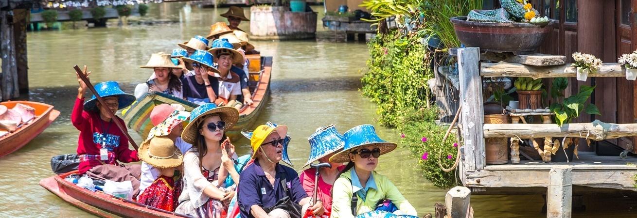 Kết quả hình ảnh cho floating market pattaya